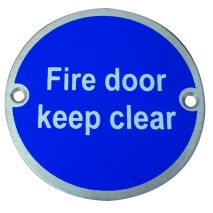 Fire Door Keep Clear