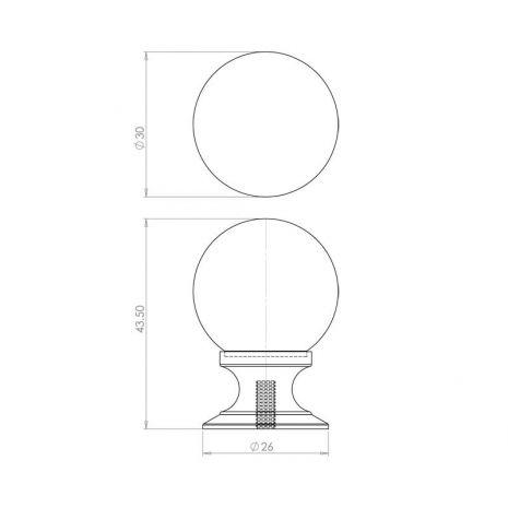 Dimensions - 30mm
