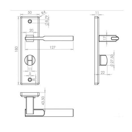 Dimensions - Bathroom